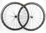 Ultralight 700C 30/35/38/45/50/60mm depth road bike carbon wheels clincher/Tubular carbon wheelset with special brake surface