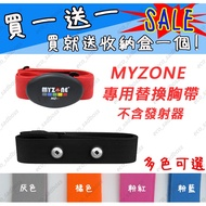 Myzone心跳傳輸器 副廠替換心跳帶 心率帶 胸帶 World Gym MZ-3(贈收納盒)