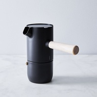 เดนมาร์ก Stelton Simple อิตาเลี่ยน Moka Pot หม้อกาแฟเอสเพรสโซ่วาล์วเดี่ยวเครื่องทำกาแฟสแตนเลส