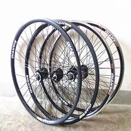 捷安特GIANT自行車山地車輪組碟剎 V剎ATX輪子26X1.5-1.95輪圈組