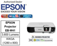 Epson EB-W41 Business Projector bundle with Sandisk 64GB flash drive  ** Free $40 NTUC Voucher + Epson Soft Carrying Case (Pre-Packed in Reail Packaging Box) Till 2nd Mar 2019 **