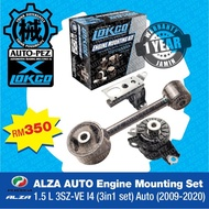 PERODUA ALZA 1.5L AUTO Engine Mounting Set 1.5L 3SZ-VE14(2009-2020) - LOKCO brand