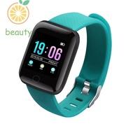 116 Plus Bluetooth Waterproof Smart Watch Health Monitor Bracelet