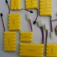 小乖乖123 百貨館遙控車儀器鎳氬電池 無記憶效應 低自放遙控車挖土機 電池無記憶效應 9.6v  700ma(370元)