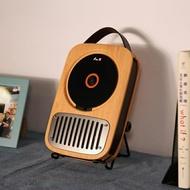 CD機 巫單曲人生壁掛式復古迷你便攜戶外發燒純CD機播放器轉盤隨身聽家用學生英語留聲機 MKS