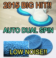 [ 2017 Korean BIG HIT ITEM ] Otocinc Electric Auto Dual Spin Rotation Water Mop Cleaner Stick Rag Cl