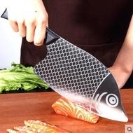 哥頓不銹鋼菜刀廚房家用切菜刀切片刀斬切兩用廚師專用切肉砍骨刀
