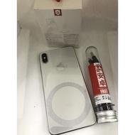 二手機 Apple iPhone XS MAX 6.5吋 64G 銀 手機/蘋果/鏡面 店0065 0160