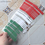 9x25cm Made in Italy Flag Bar Code Car funny Sticker PVC Decal Styling For Alfa Romeo GT 159 156 147 giulietta mito stelvio(White text)