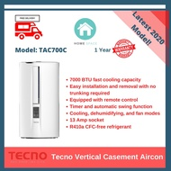 Tecno Vertical Casement Aircon - New 2020 Model