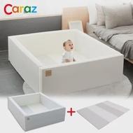 【Caraz】韓國寶寶遊戲城堡圍欄+地墊組合