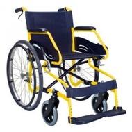 【輪椅B款】康揚 SM-100.3輪椅 低碳鋼鋁合金 17吋坐寬 雙煞 (單台)【杏一】