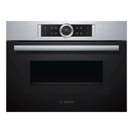 BOSCH CMG-633BS1B 45L MICROWAVE COMBINATION OVEN ***2 YEARS WARRANTY BY BOSCH***