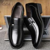 รองเท้าหนังดำ รองเท้าชาย รองเท้าผู้ชายคัชชู หนัง รองเท้าคัชชูดำ business shoes รองเท้าหนังทำงาน รองเท้าทำงานผู้ชาย รองเท้าหนังผู้ชาย รองเท้าหนังทำงานผู้ชาย รองเท้าสูทชาย รองเท้าผู้ชาย2021 formal shoes men รองเท้าคัตชูผู้ชาย รองเท้าทำงาน  หนังเทียมพียู
