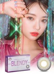 LensVery - Blendy Gray 冰樂灰 3 個月即棄隱形眼鏡 (弧度: 8.6) (度數: -0.00) (香港行貨)