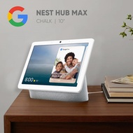 Google Nest Hub Max   Chalk Color   10 in Touchscreen   Direct from US