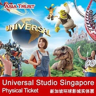 Universal Studios Singapore / Physical ticket only / Open date / Sentosa / USS ticket