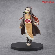 16cm Kimetsu no Yaiba Figure Tanjirou Nezuko Inosuke figurine Anime Demon Slayer Action Figure Demon blade figures Model toys