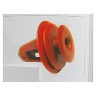 TOYOTA TERCEL ALTIS CORONA COROLLA 車門內板固定扣 門內板扣 內飾板扣 門板扣 (紅)