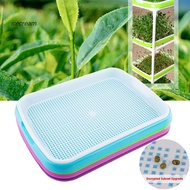 Icecream Seed Sprouting Tray Holder Soil- Planter Seedling Pot Hydroponic Container