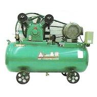 「鴻昇空壓機」7.5HP三相220V空壓機(皮帶)(非螺旋式非靜音箱型非變頻)~免運 另有單相(現貨)