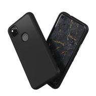 犀牛盾 Google Pixel 4a (4G) (5.81吋) SolidSuit經典黑防摔背蓋手機殼