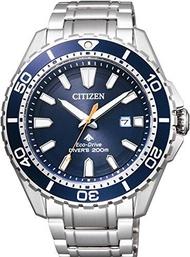 CITIZEN นาฬิกาข้อมือ PROMASTER Promaster PROMASTER Eco-Drive Marine Series 200M Diver BN0191-80L ผู้ชาย