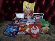 Paket Sembako Murah (Ada minyak, gula, kopi, kecap,dll)
