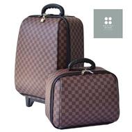 ร้านแนะนำWheal กระเป๋าเดินทาง เซ็ทคู่ ลิขสิทธิ์และขนาดของแท้ 18 /14 นิ้ว Louise Brown Classic กระเป๋าล้อลาก