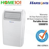 Harsons Portable Aircon 12000BTU PAC-12TK11*NO INSTALLATION* (Stock Arr On 29/8/2019)