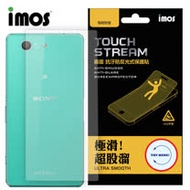 iMOS Sony Xperia Z5 Compact Touch Stream 電競 霧面 背面保護貼