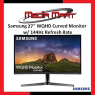 "SAMSUNG 27"" WQHD Curved Monitor with 144Hz Refresh Rate"