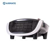 AIRMATE艾美特 居浴兩用陶瓷電暖器(暖心白)