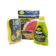 【BUNDLE DEAL W/ FREE GIFT】 Cyber Snow Wash Car Shampoo + Micro Fibre ClothShampoo