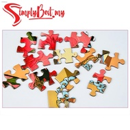 Ready Stock◇♣SIMPLYBEST 1000pcs Puzzle Jigsaw Puzzles for Adult and Kids Teen Toys Scenery Educational Intellectual De
