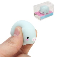 Pig Mochi Squishy Squeeze Cute Healing Toy Kawaii Collection Stress Reliever Gift Decor