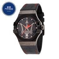 MASERATI 瑪莎拉蒂 R8851108010 經典大三叉黑紅款 錶現精品 原廠正貨