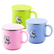 🌟現貨🌟斑馬牌兒童馬克杯(附蓋)250ml 不鏽鋼隔熱杯 斑馬不鏽鋼杯 搭斑馬兒童碗 幼兒學習杯 斑馬隔熱杯 漱口杯