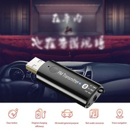 Portable Mini Wireless Receiver Bluetooth 5.0 USB Transmitter Receiver Adapter 3.5mm AUX LED Indicat