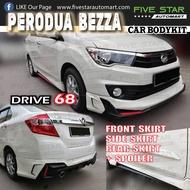 Perodua Bezza DRIVE 68 Bodykit Skirting