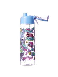 Spritz lid drink bottle