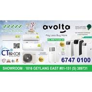 AVOLTA A015A-12C 4-IN-1 PORTABLE AIRCON (12000BTU) + FREE $50 Voucher + FREE 6 Years Warranty (CHECK STOCK)