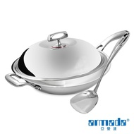 【Armada】菁英系列36cm單柄炒鍋 (台灣製)+不鏽鋼鏟