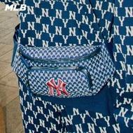 【MLB】腰包 MONOGRAM老花系列 紐約洋基隊LOGO(三色任選)