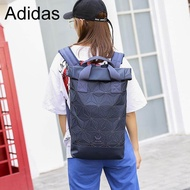 Adidas leisure backpack unisex general computer bag issey miyake life 3D diamond geometry roll top backpack