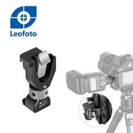 【Leofoto 徠圖】FA-16閃光燈冷熱靴自動鎖緊快拆夾座(L板專用)(彩宣總代理)