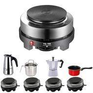 110/220V MINI Multifunction เครื่องทำกาแฟเตาเตาอบไฟฟ้าอุปกรณ์เครื่องทำครัว Moka หม้อกาแฟร้อน Cafe นม Burner 500W