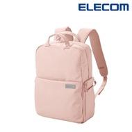 【ELECOM】帆布多功能後背包S041-粉(DGB-S041PN-G)