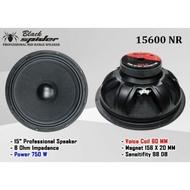 Speaker Komponen BlackSpider 15600 NR 15 inci