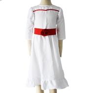 AA安娜貝爾2誕生COS服恐怖娃娃cosplay服裝萬聖節詭娃親子cos女裝